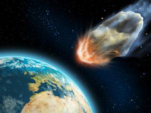 אסטרואיד מאיים על כדור הארץ- תמונתו של Andreus Agency