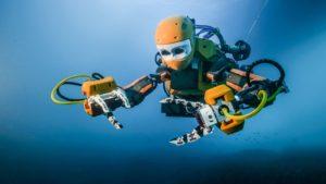 OceanOne- צוללן רובוט